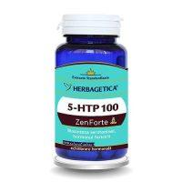 5-Htp 100 Zen Forte Herbagetica 60cps