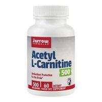 Acetyl L-Carnitine (Acetil L-Carnitina) 500Mg Secom Jarrow Formulas 60cps