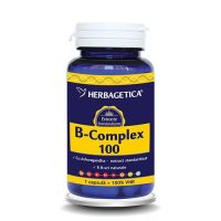 B Complex 100 Herbagetica 60cps