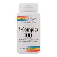 B-Complex 100Mg Secom Solaray 50cps