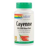 Cayenne 450Mg Secom Solaray 100cps