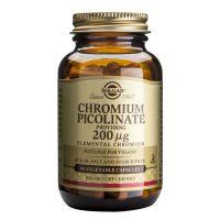 Chromium Picolinate Picolinat de Crom Solgar 200ug 90cps