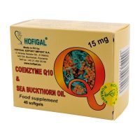 Coenzima Q10 Ulei Catina Hofigal 15 mg 40cps