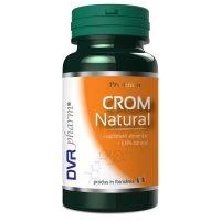 Crom Natural DVR Pharm 60cps