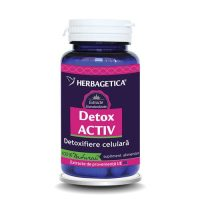 Detox Activ Herbagetica 60cps