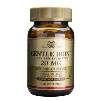 Gentle Iron 20mg (Fier) Solgar 90cps